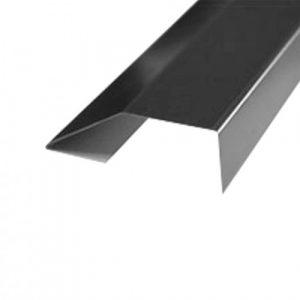 Хребтовая планка, L=2 м Без покрытия Zn-цинк 0,50