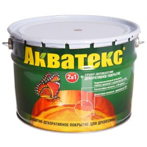 Акватекс грунт-антисептик 10л