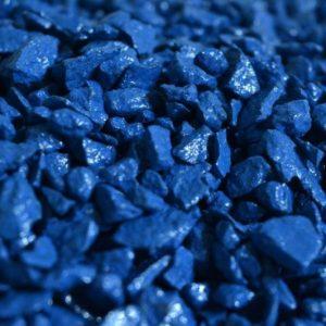 Декоративный гранит, синий (5 кг)