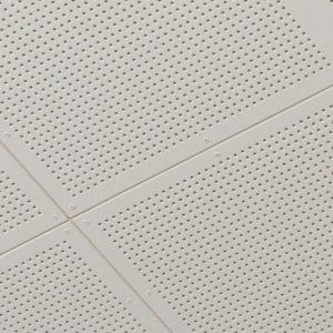 Акустическая гипсокартонная плита для потолка Кнауф Данолайн Belgravia (0.6*0.6 м/12.5 мм) S24 G1
