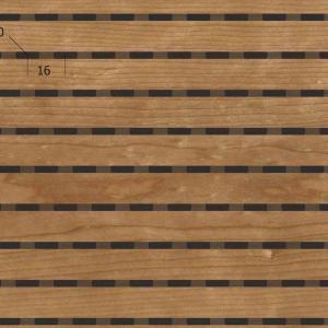 Акустическая, негорючая стеновая панель TAGinterio™ LP3-16 бесшовная стыковка