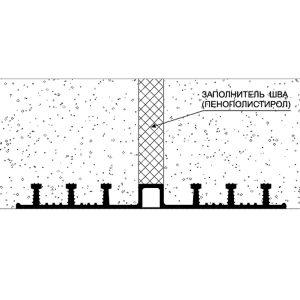 Гидрошпонки типа ДО - монтажная схема в монолитном строительстве