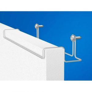 Гигиеническая потолочная акустическая панель Hygiene Advance Wall 1200х600 40