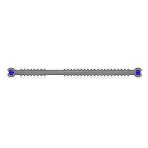 Гидроизоляционная шпонка ХВН - 120х4 (фото)