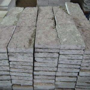"""Камень облицовочный натуральный Известняк,серый """"Изборск"""", 30,60,90 мм"""