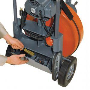 Аппарат для прочистки канализации Крот-Макси