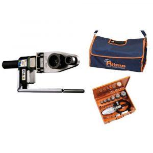 Набор R63 TFE + насадки 20 - 25 - 32 - 40 - 50 - 63 мм тип А + стальной чемодан + инструмент