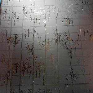Зеркало травленное SMC-021 б/ 2550x1650x4 мм