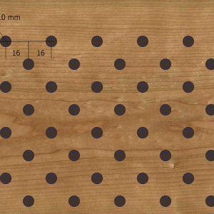Акустическая, негорючая стеновая панель TAGinterio™ D3/5/8/10-32x16