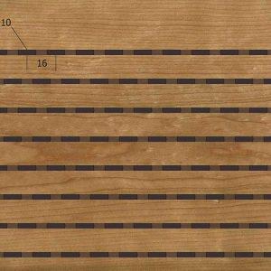 Акустическая, негорючая стеновая панель TAGinterio™ L3-16