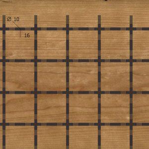 Акустическая, негорючая стеновая панель TAGinterio™ Q3-32