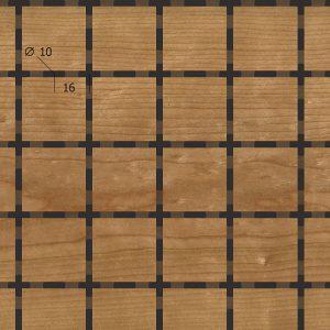 Акустическая, негорючая стеновая панель TAGinterio™ QP3-32 бесшовная стыковка