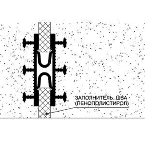 Гидрошпонка типа Таракан Аквастоп - монтажная схема