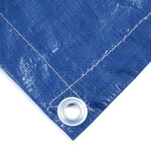 Тент Тарпаулин синий утепленный (Изолон 5 мм) 180 г/м² нестандартный размер