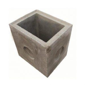 Нижняя часть бетонного дождеприемника, 510х380х440