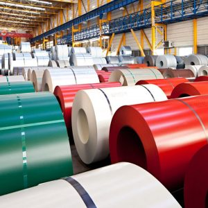 Рулонная кровельная сталь Arcelor, 1250 мм, 625 мм Полиэстер РЕ SSAB, Arcelor 0,5