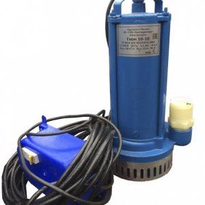 Насос центрбежный погружной для загрязненных вод Эл.насос 1Гном 10-10 Д 220В