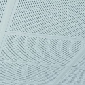 Акустическая гипсокартонная плита для потолка Кнауф Данолайн Plaza (0.6*0.6 м/12.5 мм)
