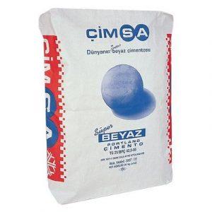 Белый портландцемент CEM I 52, 5 N Cimsa