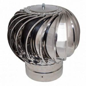 Дефлектор кровельный активный 680 мм оцинкованная сталь без покраски