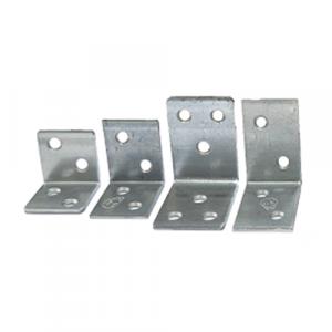 Мебельный широкий уголок OMAX бел. цинк KS-4 25х25х25 OMAX (100 шт)