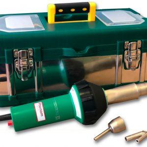 Фен строительный MELTPLAST1600 - комплект для сварки внахлест