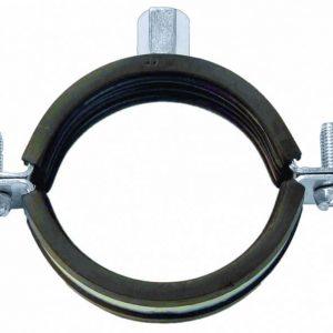 """Хомут OMAX оцинкованный с комбинированной гайкой М8/10 8"""" (219-224 мм) стяжка-болт (50 шт)"""