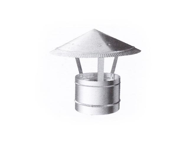 Зонт круглый для воздуховода d= 1600 мм
