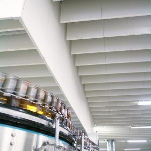 Гигиеническая потолочная акустическая панель Hygiene Advance Baffle 1200x600 40