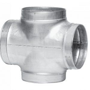 Крестовина воздуховода оцикнованная 800х800 мм