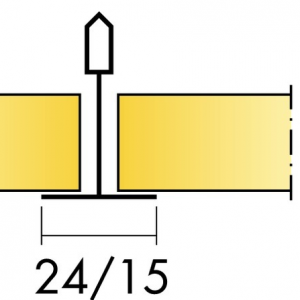 Акустическая потолочная панель с поверхностью Akutext FT Focus A T24 1200x600 20