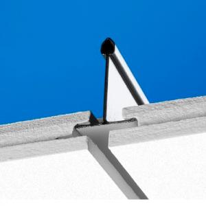 Акустическая длинномерная панель с поверхностью Akutext FT Focus Dg XL 2400x600 20