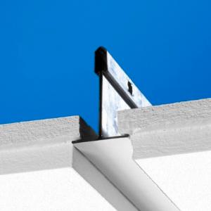 Акустическая потолочная панель с поверхностью Akutext FT Focus E T15 600x600 20