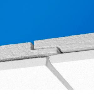 Акустическая потолочная панель с поверхностью Akutext FT Focus F 600x600 20