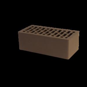 Кирпич облицовочный коричневый М-150, 250x120x88 мм