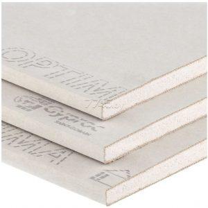 Гипсокартон Гипрок Стронг суперпрочный высокопрочный гипсокартонный лист для стен и перегородок ГКЛ 1.2*2.5 м/15 мм