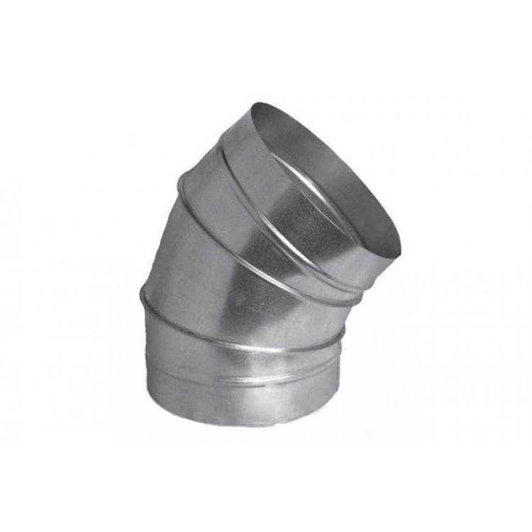 Отвод оцинкованный 30°, d= 1600 мм