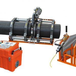 Стыковая сварочная машина BASIC 160 V2 230В с полным комплектом вкладышей от 40мм до 140мм