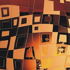 Зеркало травленное SMC-042 зо 2440x1650x4 мм