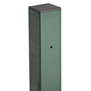 Столб для сварного забора 2D 60x40x1,5 мм 3900 мм