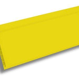 Вагонка ПВХ ЭКО Желтая 3000х100х10 мм