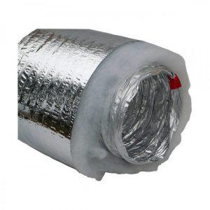 Гибкий теплоизолированный воздуховод серия ИзоМЕ д=508 мм