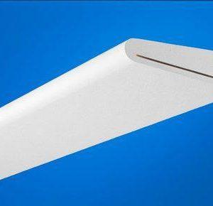 Крыловидная акустическая панель с поверхностью Akutext FT Focus Wing Kit E Рядовая панель (набор элементов)