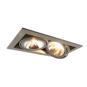 Встраиваемый светильник Arte Lamp Cardani Semplice A5949PL-2GY