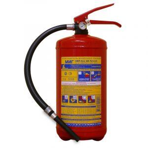 Огнетушитель воздушно-пенный морозостойкий ОВП-4 (з)