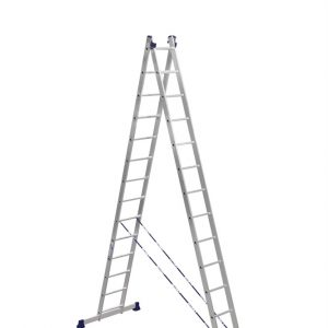 Лестница- стремянка 2х15 (2х4100х3840х7690) 17кг