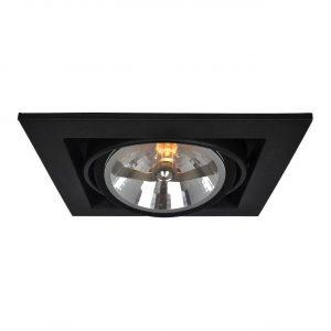 Встраиваемый светильник Arte Lamp Cardani A5935PL-1BK