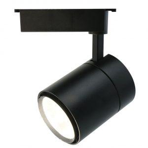 Трековый светодиодный светильник Arte Lamp Attento A5750PL-1BK