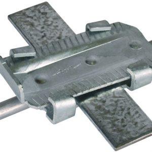 Клиновой соединительный зажим для бетонного фундамента St/tZn