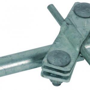 Соединительный зажим для стержней глубинного заземлителя, для неразрезрых заземл. проводников NIRO(V4A), D=20 мм